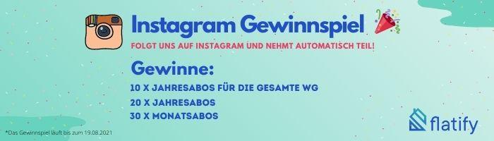 Flatify Instagram Gewinnspiel